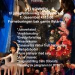 Julegranen tennes 1. søndag i advent