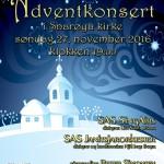 Adventskonsert i Snarøya kirke 2016