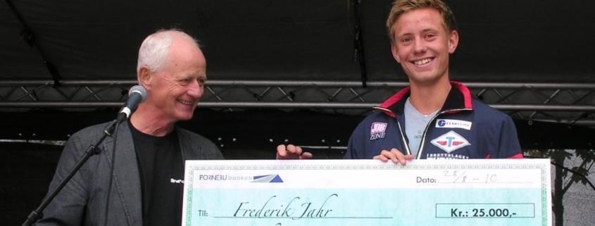 Frederik Jahr fikk stipend på kr. 25.000,-