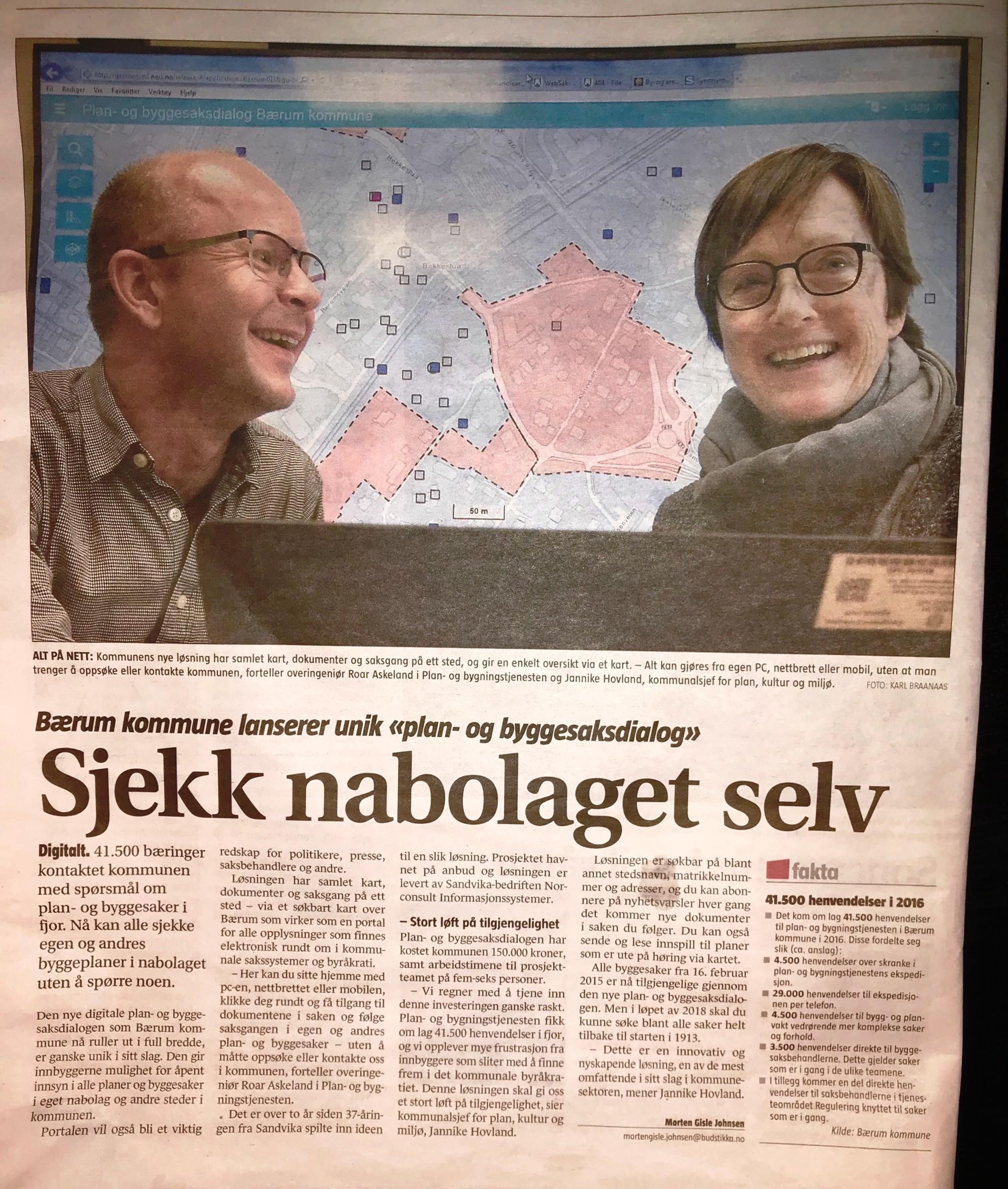 Gratulerer Bærum kommune!