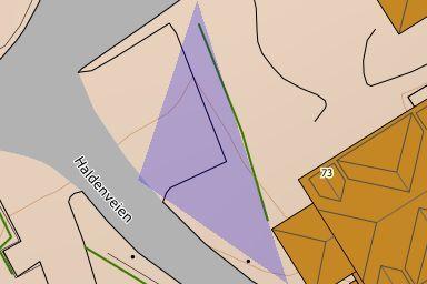 P-plass Haldenveien til Badehusene