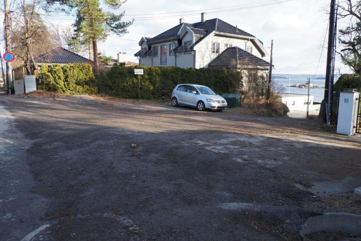 P-plass Haldenveien til Badehusene 2