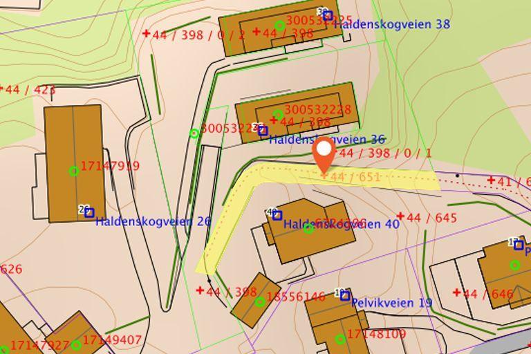 Sti Haldenskogveien – Pelvikveien