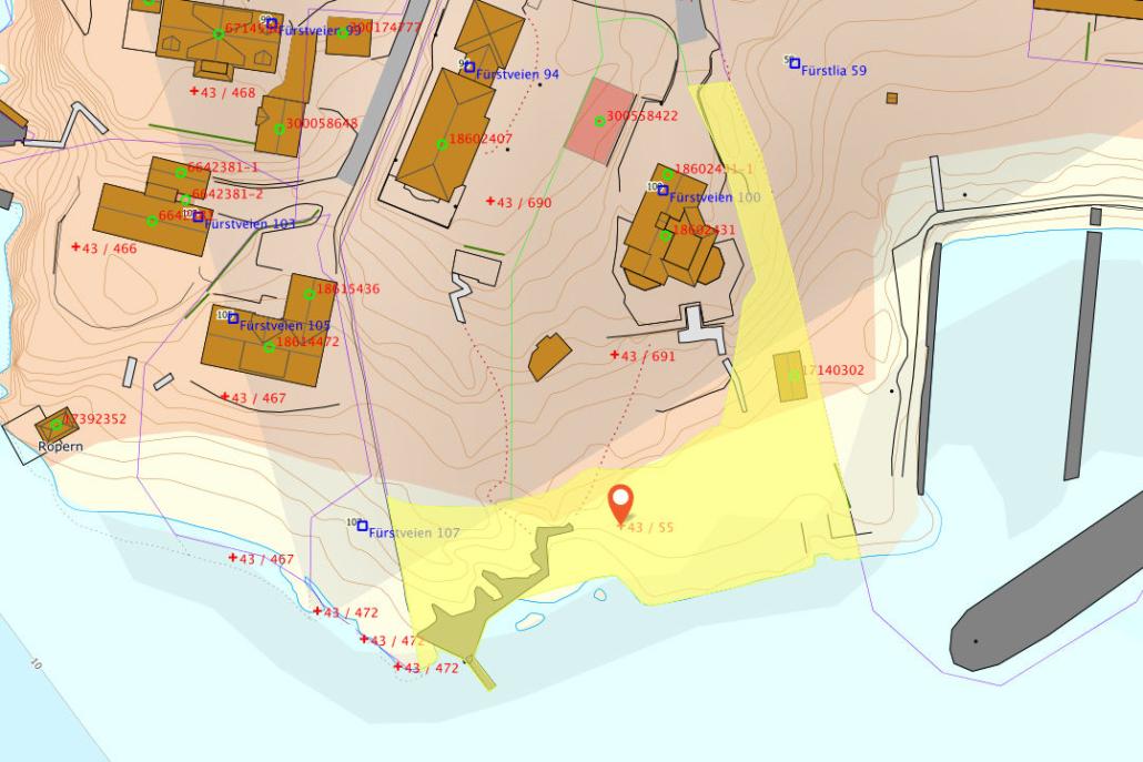 Fürstodden - Kart