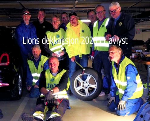 Kjepper i hjulene for Lions